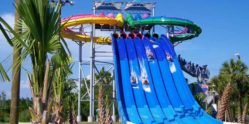 The Park Waterville Usa Waterpark Amusement Park Gulf Shores Al