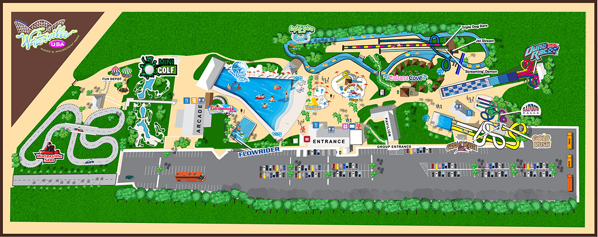 Attractions - Waterville USA, Gulf Ss AL on